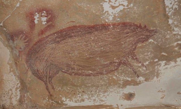 The Indonesia Cave Painting