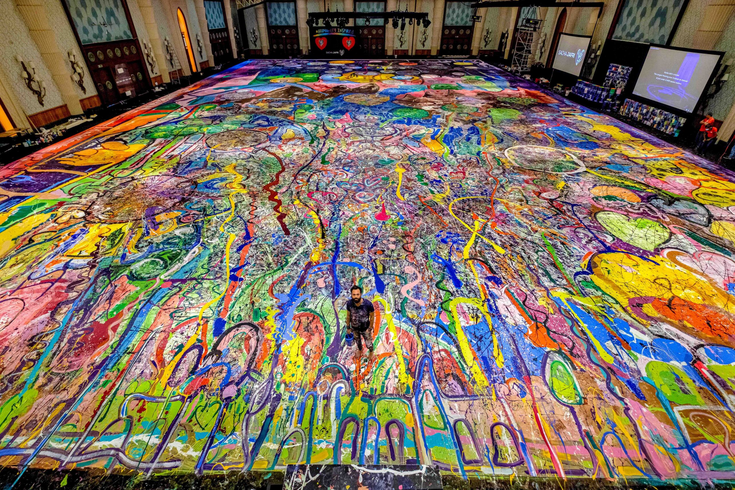 the world largest painting